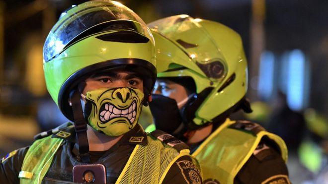 Policía en Colombia: por qué es militar y no civil (y qué tiene que ver con las demandas de las recientes protestas)